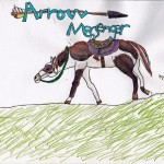 December: Arrow Messenger, art by Amaya Bechler