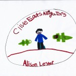 Clive Eats Alligators, art by Skylar Rich.