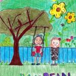 Ivy and Bean, artwork by Vanessa Bernal