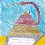 Apophis, artwork by Ian Curtis