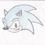 Sonic, artwork by Ariana Hayden