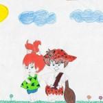 Pebbles, artwork by Monserratt Carrillo