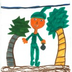 Robin Hood, artwork by Aubriella Giovanetti