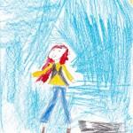 Sadie Kane, artwork by Sarah Curtis