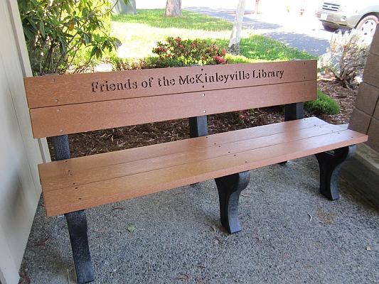 New McKinleyville Bench