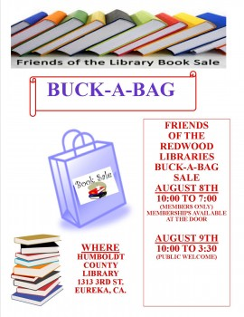 BUCK A BAG SALE FLYER