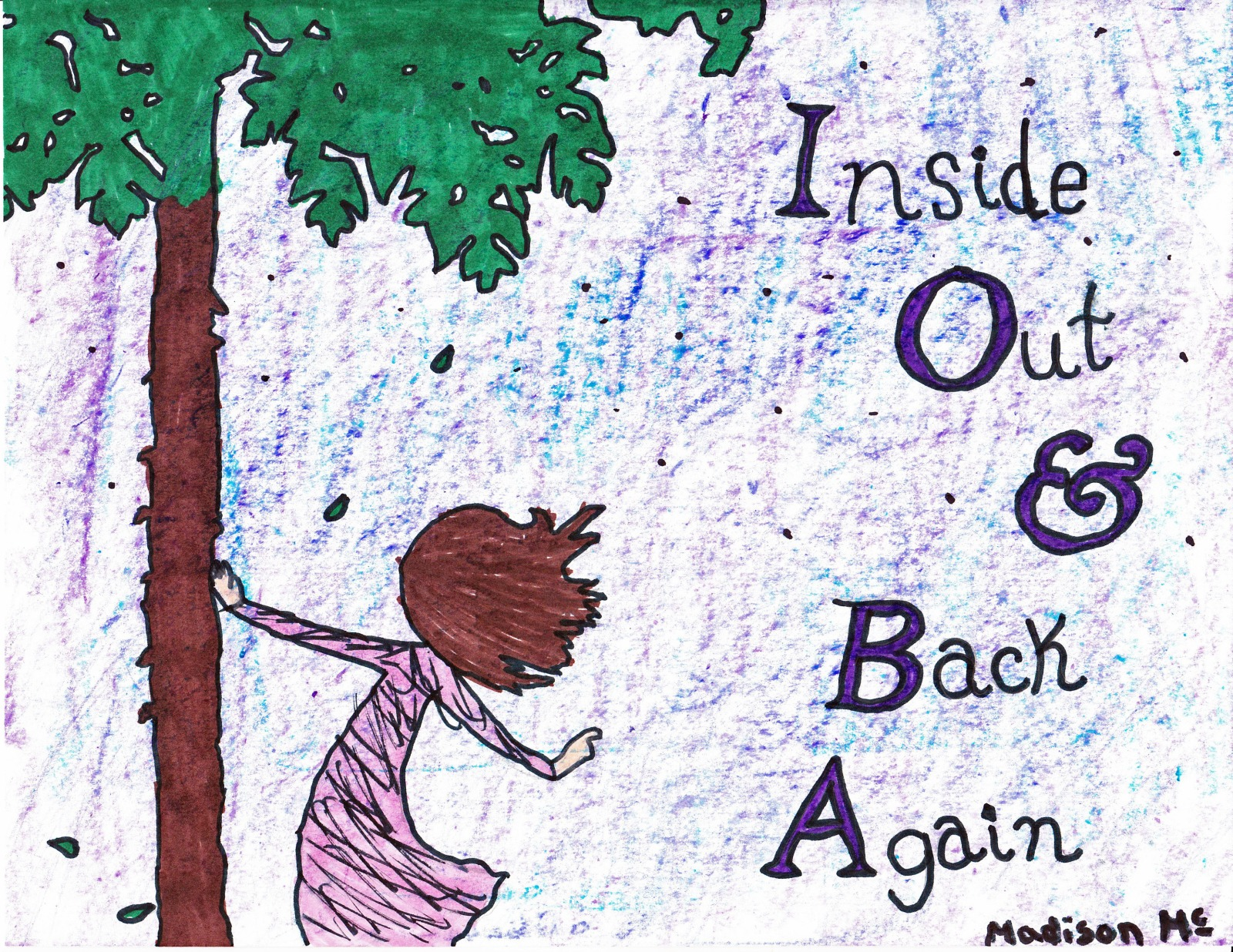 Inside Out And Back Again, artwork by Madison McConnell