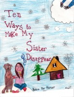 Ten Ways to Make My Sister Disappear, artwork by Anya Rose Collingwood