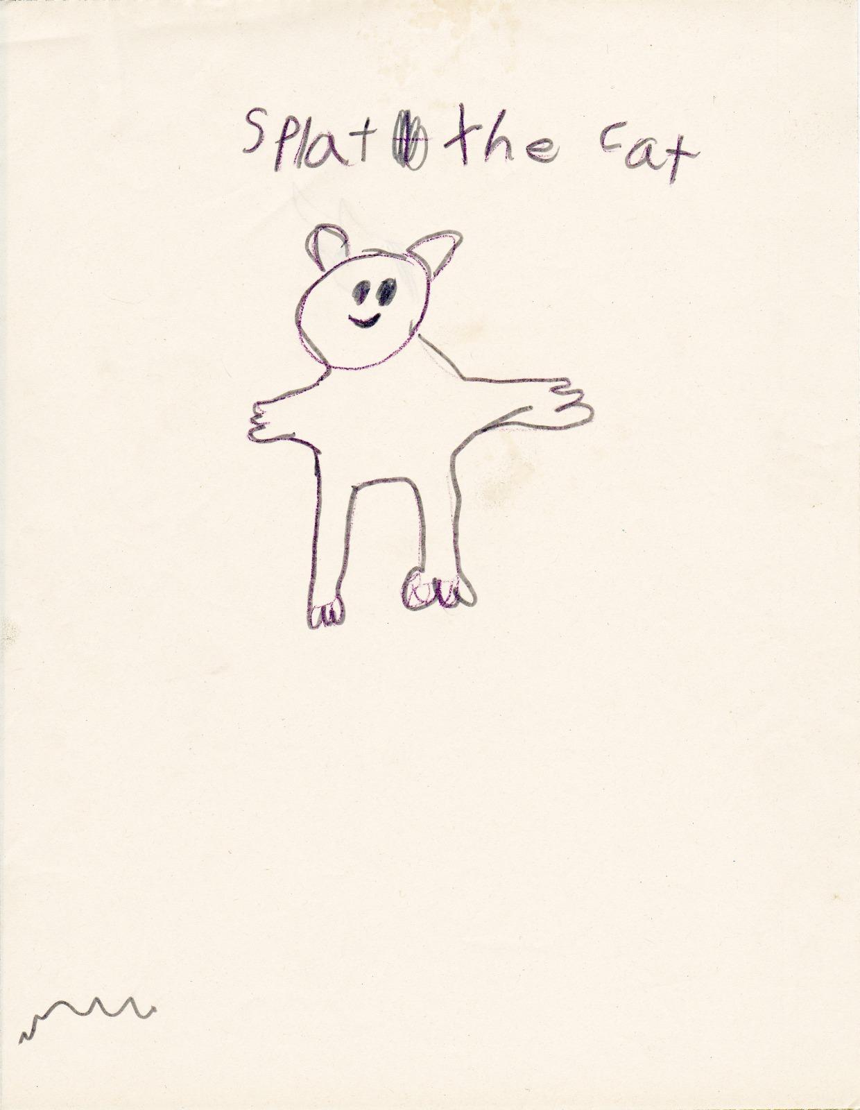 Splat the Cat, artwork by Alana Robinson