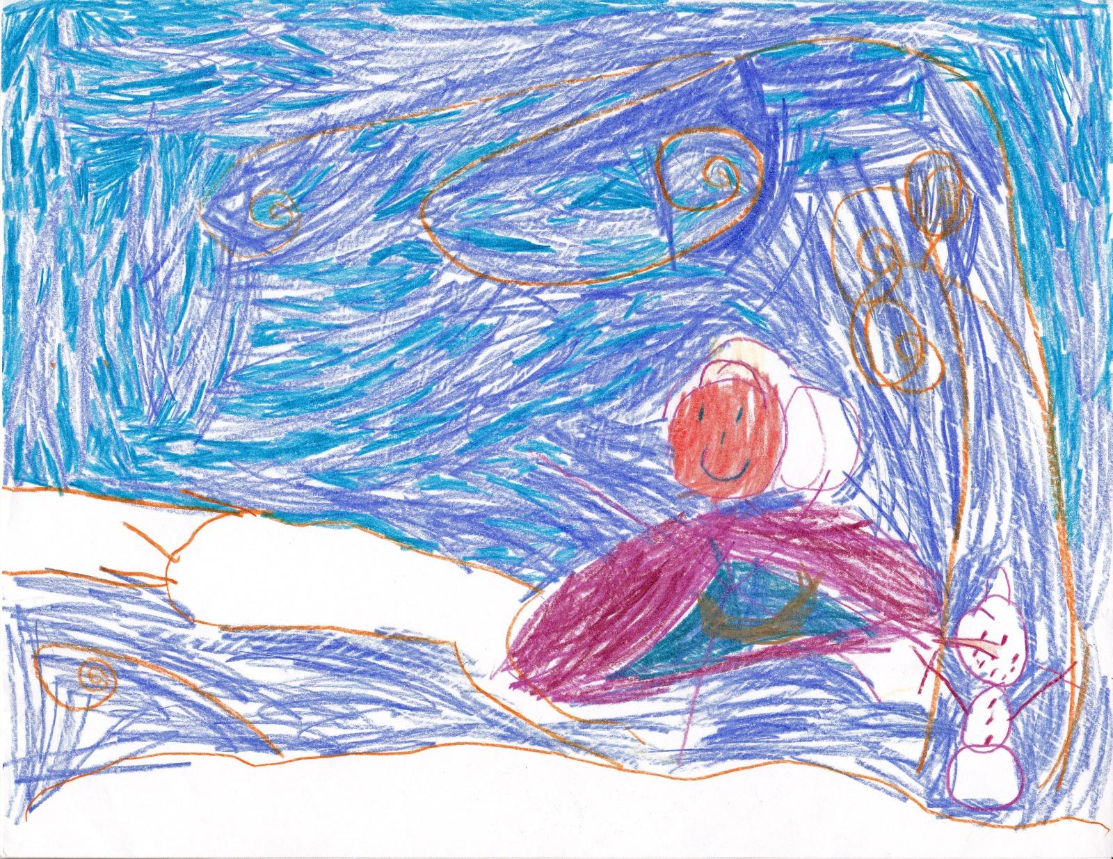 Frozen ‐ Anna's Best Friend, artwork by Amelia Gatzke