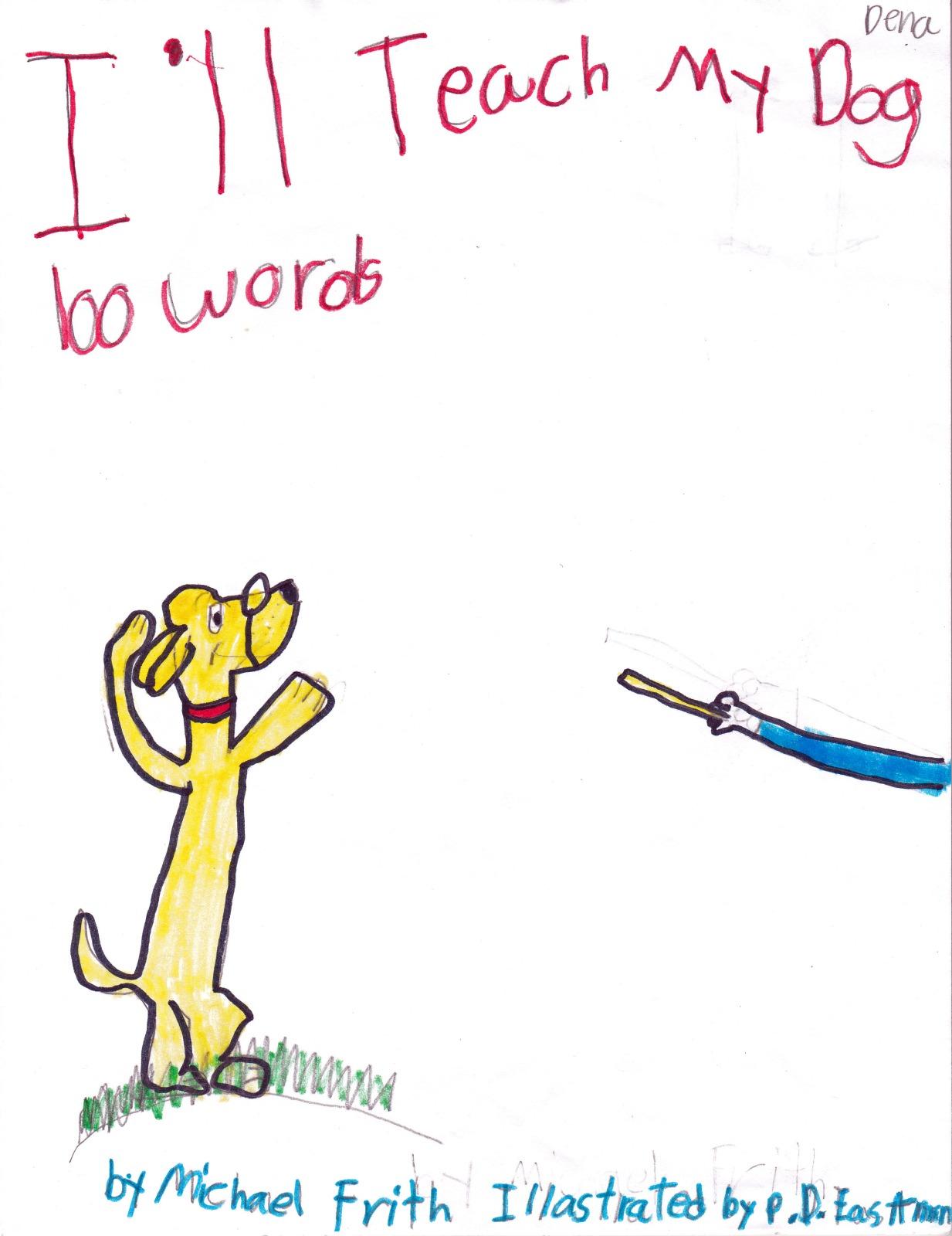 DotWK: I'll Teach My Dog 100 Words, artwork by Dena Her