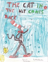 The Cat in the Hat Comes Back, artwork by Alessandra Palmer