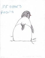 Mr. Popper's Penguins, artwork by Alexia Cox
