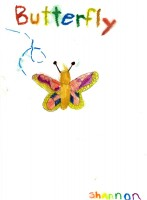 Woodstock Butterfly, artwork by Shannon Seda