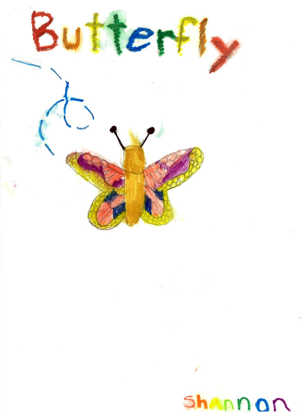 Woodstock Butterfly, artwork by Shannon Seda