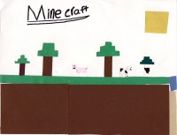 Mine Craft, artwork by Jesse Toland