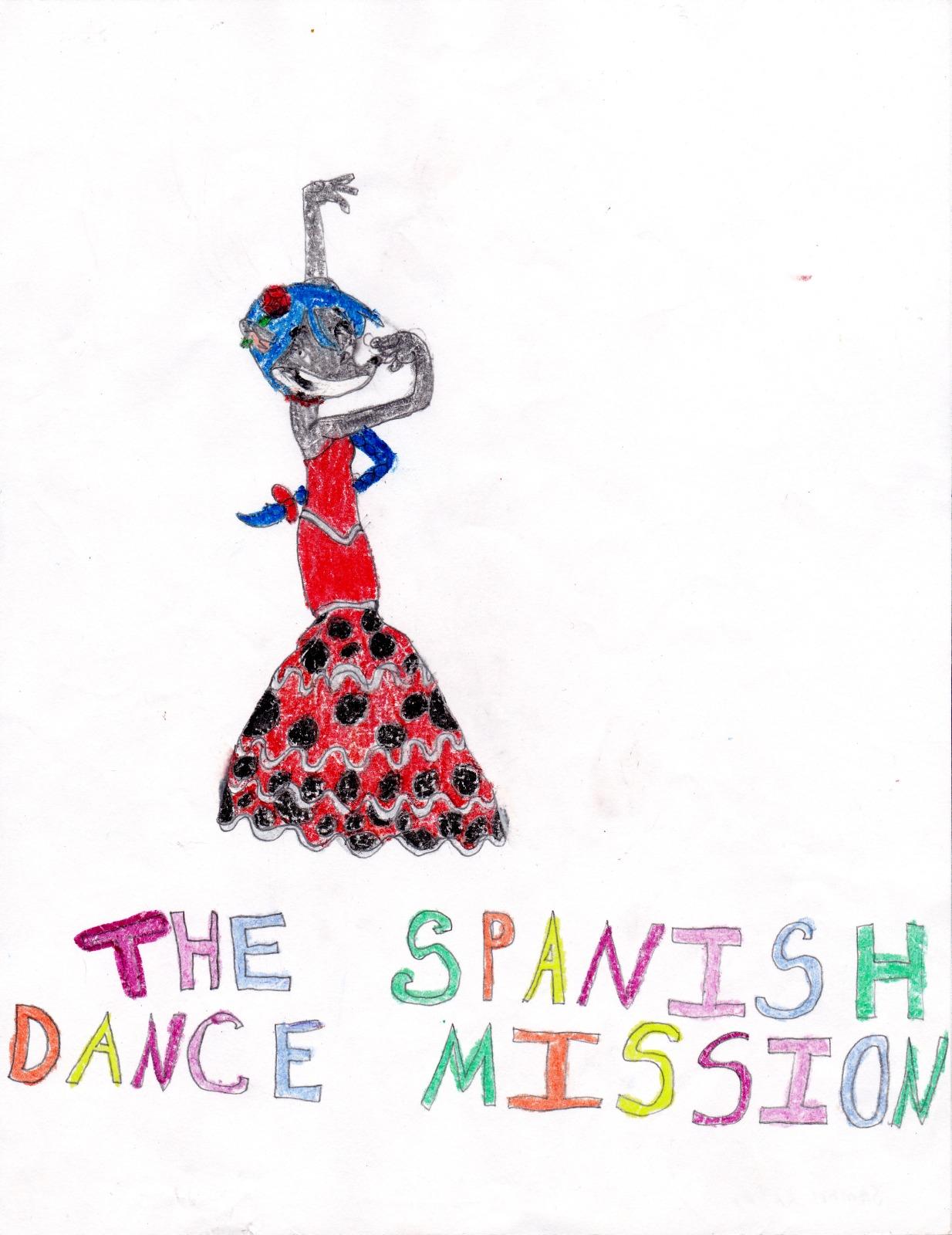 Paulina Stilton ‐ Spanish Dance Mission, artwork by Sammi Katri