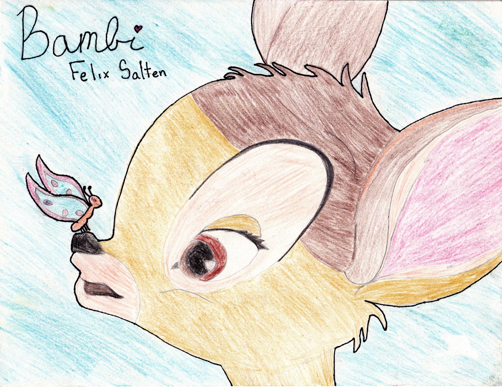 Bambi, artwork by Cambelle Evans