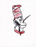 Cat In The Hat, artwork by Julie Omaha