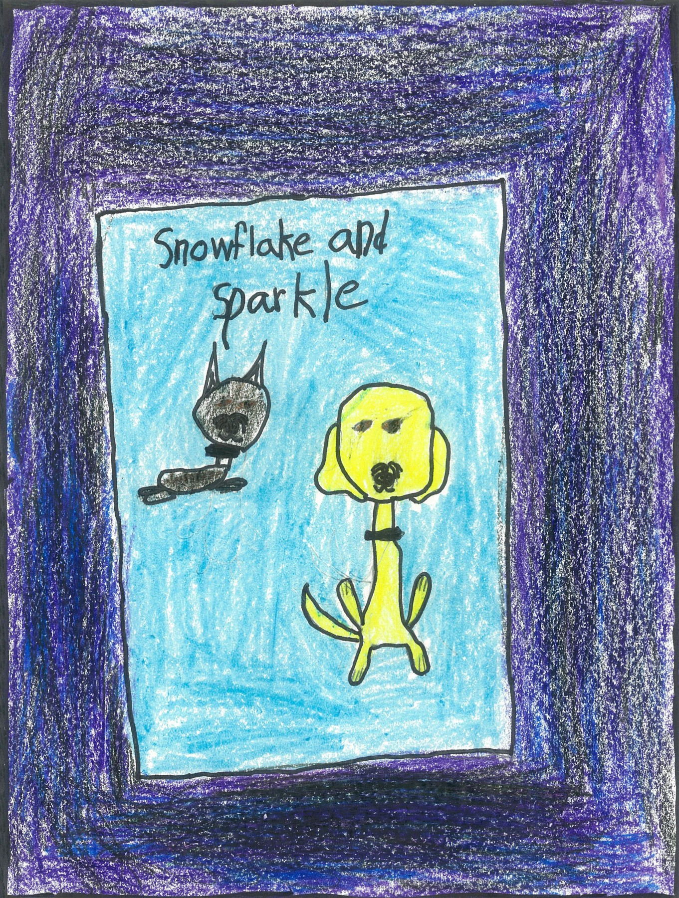 Snowflake and Sparkle, by Aimee Rogers - Age 7