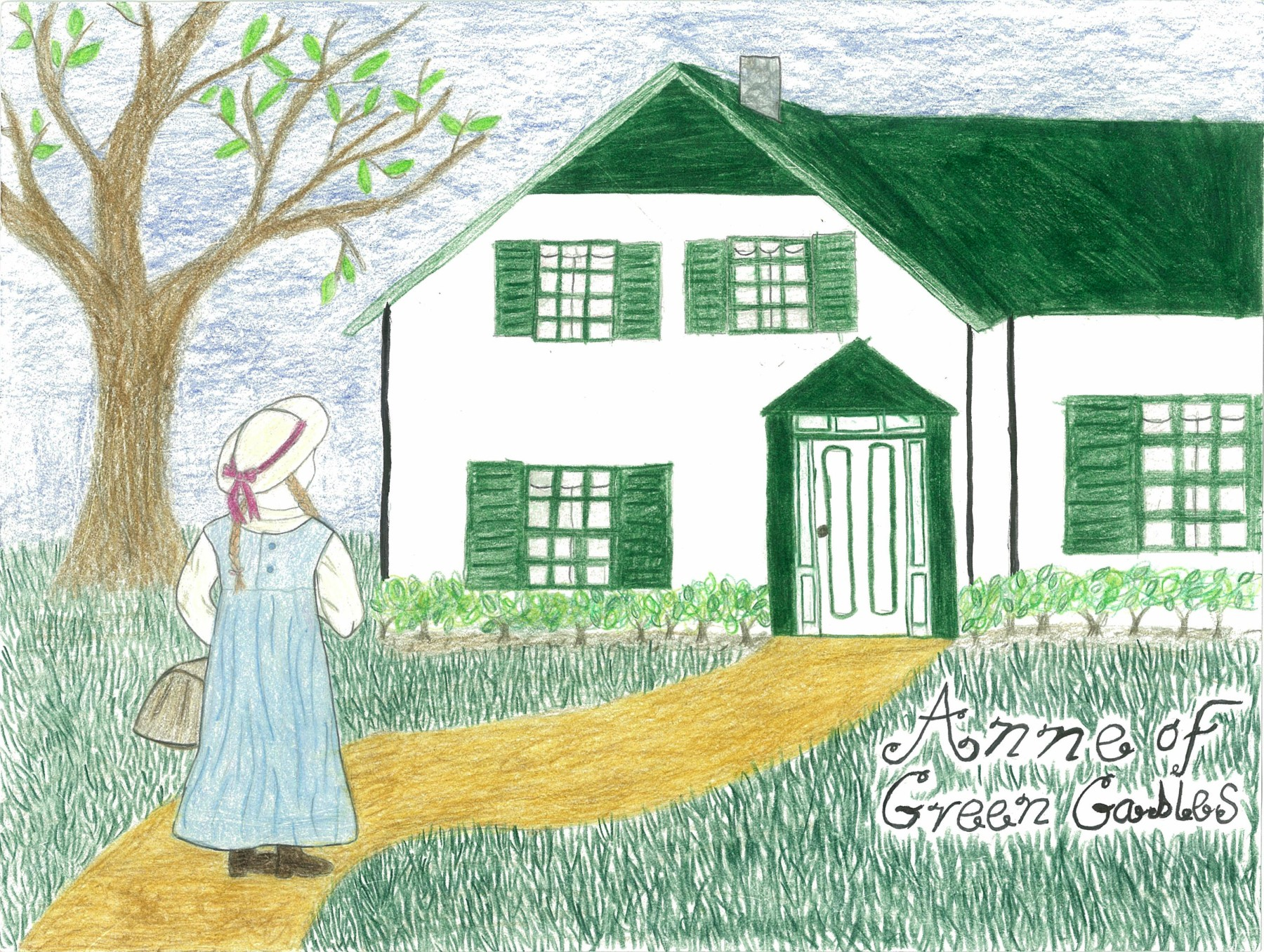Anne of Green Gables, by Eva Marie Pearlingi - Age 11