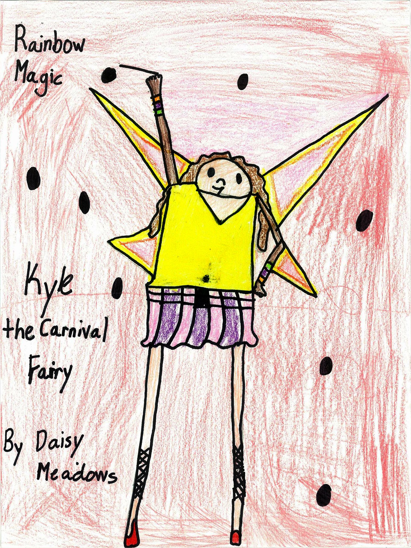 Kylie the Carnival Fairy, by Madison Youkey - Age 8