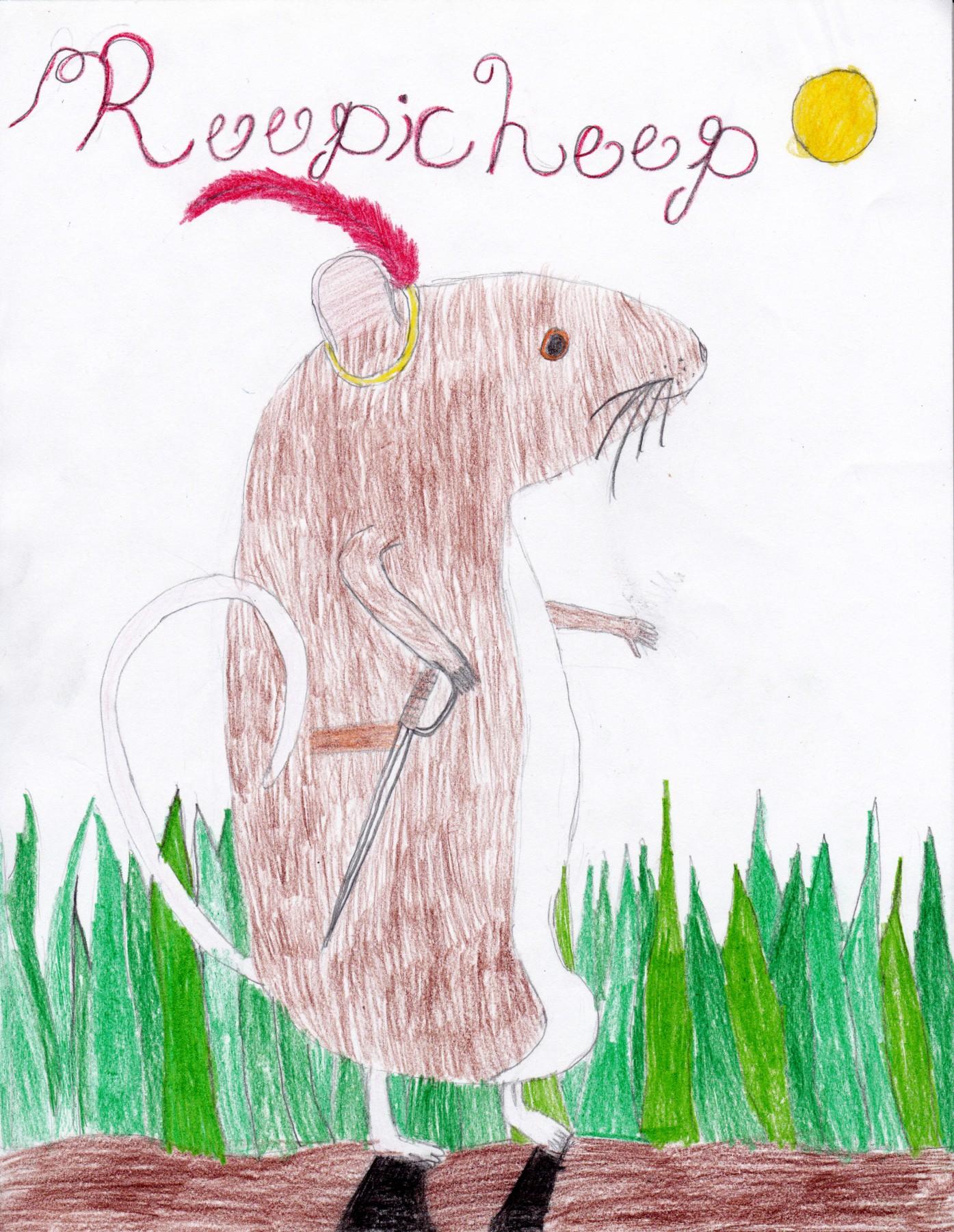 Reepicheep of the Dawn Treader, by Elizabeth Curtis - Age 10