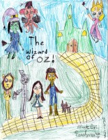Wizard of Oz, by Evelyn Unsinger - Age 12