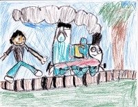 Thomas in the Country, by Manuel Jones - Age 7