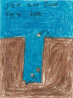 Sam and Dave Dig a Hole, by Ethan Peña - Age 8