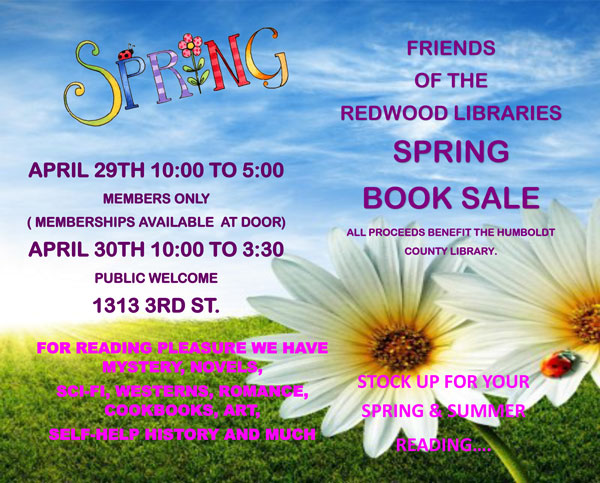 Spring Book Sale 2016