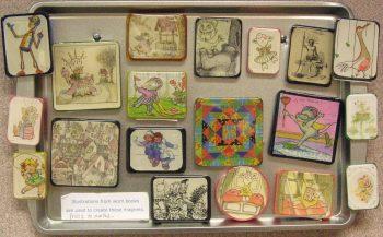 Vintage Image Magnets