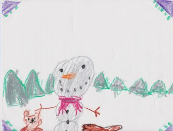 Rylan Mackenzie, Age 6, Snow Friends