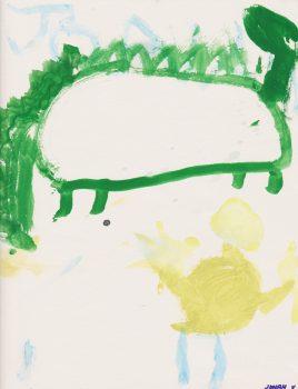 Jonah Veerkamp, Age 6, Puff the Magic Dragon