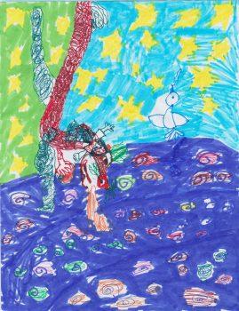Sylvia Celli, Age 7, Where the Mountain Meets the Moon