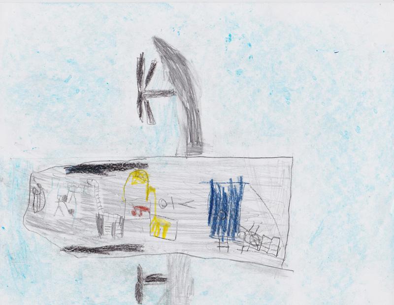 Nico Caruso, Age 8, Bobby's Airplane