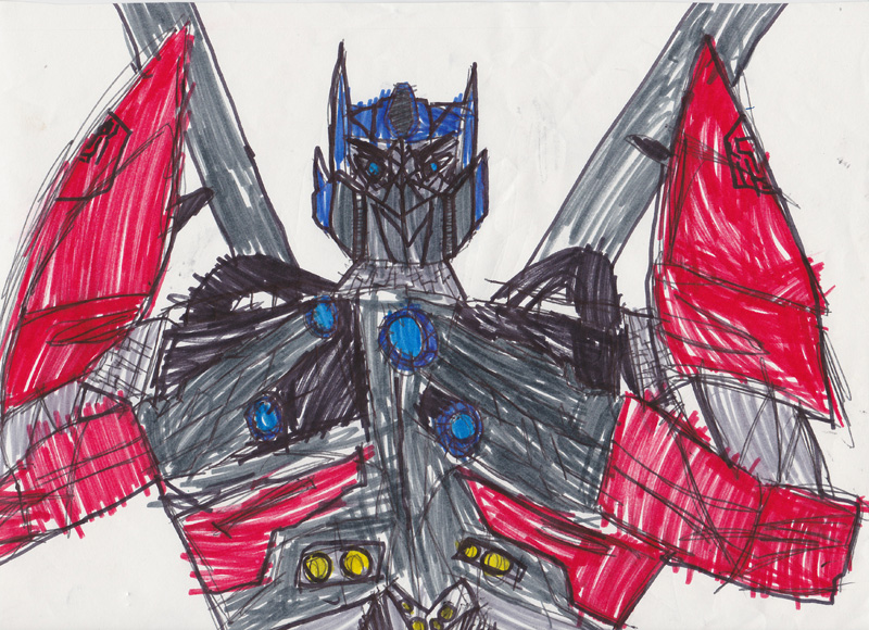 Thomas Hoffman, Age 8, I Can Read Transformers: Optimus Prime, Ratchett and Jazz #3