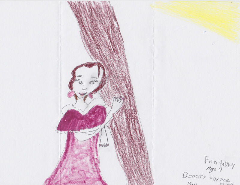 Eric Hadley, Age 9, Beauty and the Beast