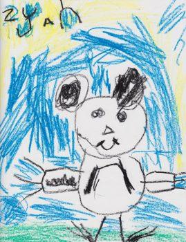 Zyan Hoffman, Age 5, Zen Shorts
