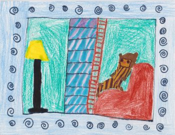 Madeline Branson Age 7, Owl at Home