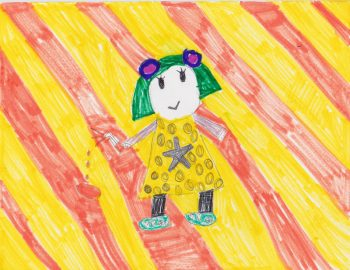Annaka Sefcik Age 6, Arthur's Chicken Pox