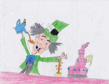 Calie Elizabeth Hadley Age 11, The Mad Hatter