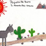Pequena the Burro, art by Alexandra Pena