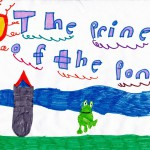 The Prince of the Pond, art by Brianna Crockett