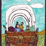 Laura Ingalls Wilder, artwork by Eva Pearlingi