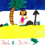 Junie B Jones, artwork by Aubriella Giovannetti