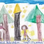 Lucy & Tumnus, artwork by Ahnalie DeBruyn