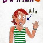 Liz from Drama, artwork by Sylvie Benson