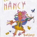 Fancy Nancy, artwork by Sammi Katri