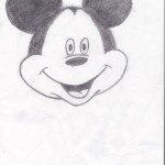 Mickey Mouse, artwork by Ariana Hayden